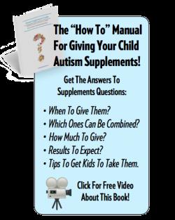 Autism book ad